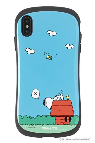 iFace First Class スヌーピー PEANUTS iPhone XS Max ケース [犬小屋]