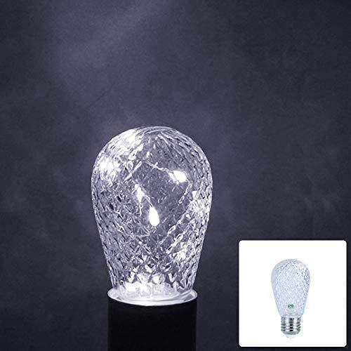 Lichte Bulbs YWXLight E27 1W 12 LED Vakantie Verlichting Monochrome LED Slinger lamp, (Size : White Light)