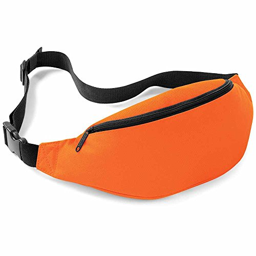 Bag base BG42 - Riñonera unisex, color naranja