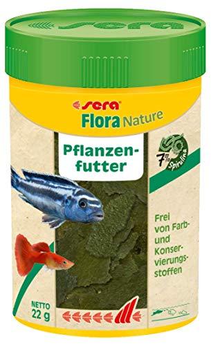 sera Flora Nature 100 ml Fischfutter Aquarium