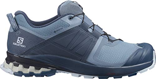 SALOMON XA Wild GTX W, Zapatillas de Trail Running Mujer, Copen Blue/Dark Denim/Kentucky Blue, 42 2/3 EU