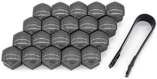 94-01 TPI Black Chrome Wheel Bolt Nut Covers 17mm Nut for Audi A4 B5