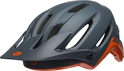 BELL 4forty MIPS - Casco para Bicicleta de montaña, Unisex Adulto, Color Cliff-Hanger Matte/Gloss Slate/Orange, tamaño Medium/55-59 cm
