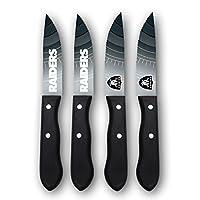 Sports Vault NFL Oakland Raiders Steak Knive Set