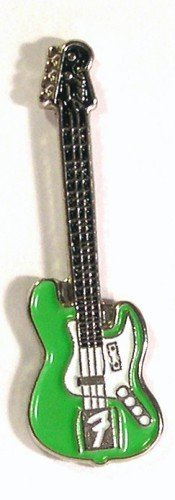 Esmalte de Metal Pin de Broche Rock Fender Guitarra eléctrica de música...