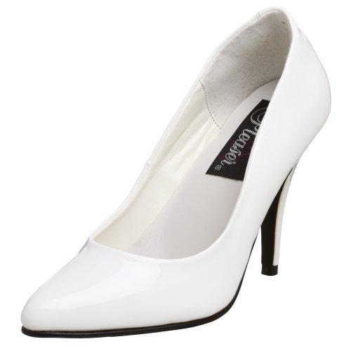 Pleaser vanity-420, Design schwarzer Schuh Damen, weiß - weiß - Größe: 43.5