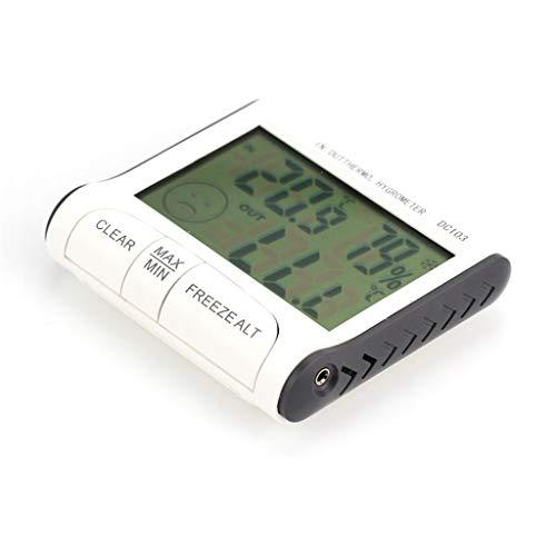 Hörsein Weerstation huishoudelijke binnen en buiten LCD elektronische temperatuur hygrometer temperatuur display thermometer hygrometer