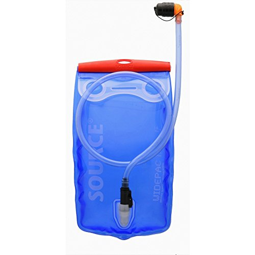 Source Ultimate Hydration System 2 L transparent-blue Trinksysteme Trinkschlauch