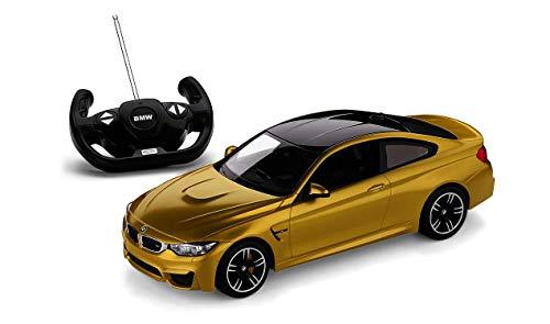 BMW Original 80442447987 Miniatur-Druckguss-Auto RC M4 Coupé, Maßstab 1:14, Gelb