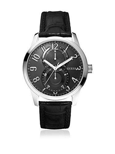 Guess Herren-Armbanduhr XL Analog Leder W95127G1