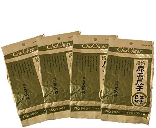 洽洽原香瓜子【4袋セット】 チャチャ 食用ひまわりの種 栄養補給 ポリポリ 中国産特級品 ゆで上げ 260g×4袋