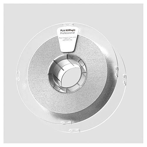 Filamento de impresora 3D de 1,75 mm, filamento Pla K5 de 1 kg, hace que la impresión muestre un efecto de superficie como rocas naturales.-Granito Ⅱ