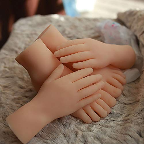 Hochwertige kleine Mädchen Echte Hand Schaufensterpuppe Körper Requisiten Schmuck Modell Nail Art Hand Silikon lebensechte Hand Modell Frau Finger,Right
