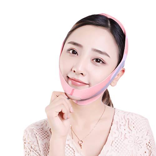 Rosvola Masque V-Face, réducteur à Double Menton, Forme en V Lifting du Visage, soulèvement du Menton, Masque Amincissant pour Soins du Visage au Double Menton