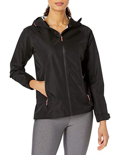 Champion Damen Regenjacke Stretch Wasserdicht - Schwarz - Klein