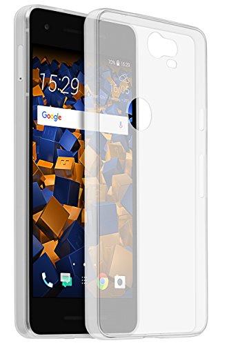 mumbi Hülle kompatibel mit Google Pixel 2 Handy Hülle Handyhülle dünn, transparent