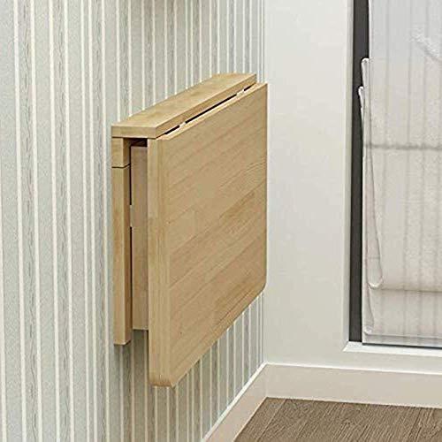 Massivholz Klapptisch Wandtisch Esstisch Computertisch Study Desk Wandtische Wandklapptisch, 120 * 50 cm