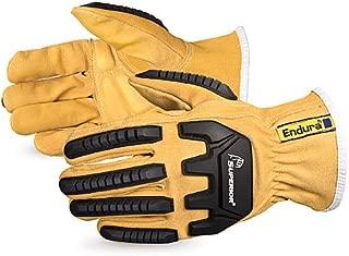 378GKVSBL Endura OilblocTM Goatskin Anti-Impact Driver Gloves, Size Large by Endura