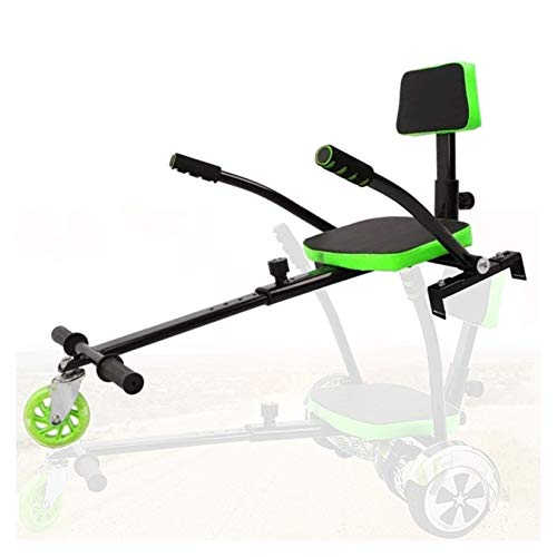 WYJW Asiento de Kart Hover Ajustable, Accesorio de Kart, Hoverboard autoequilibrado de Dos Ruedas, tamaños de 6.5, 8 y 10 Pulgadas compatibles con hoverboards para Actividades al Aire l