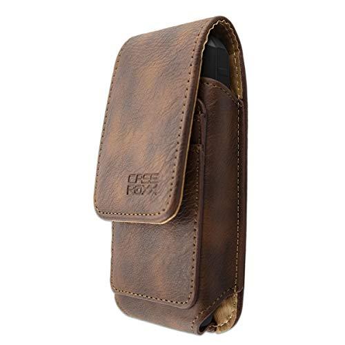 caseroxx Handy Tasche Outdoor Tasche für RugGear RG150, mit drehbarem Gürtelclip in braun