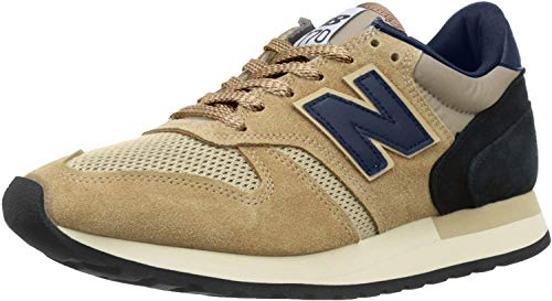 New Balance 770 Made in England Tan Trainers-UK 7