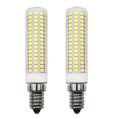 E14 LED Lampe 1160Lm 8W Ersetzt 100W 120W Kaltweiß 6000K AC 220V 230V Schlafzimmer Wandleuchte Wohnzimmer Kronleuchter Tischleuchte Leuchtmittel Klein Wandlampe 2er Pack [MEHRWEG]