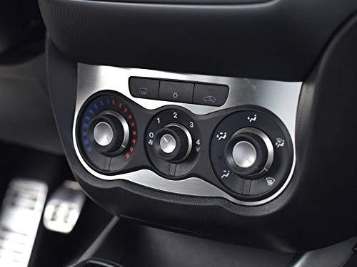 Copertura In Acciaio per Alfa_Romeo MITO - 1 Pezzo Comandi climatizzatore Targa Inox Metallo Spazzolato Interni Fatto Su Misura Decorazioni Tuning Accessori