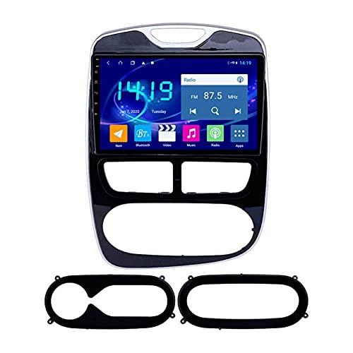 Gndy Auto Radio Video Stereo per Renault Clio 2012-2016 Android Auto Head Unità Touchscreen Player Multimedia Player Sat Nav NAVE Ricevitore FM Supporto Carplay Wifi