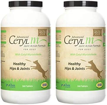 Cetyl M Advanced Dog Joint Action Tablets 360 Count Pack of 2 product image