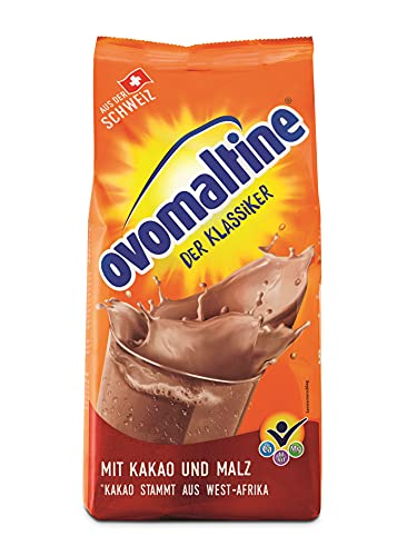 Ovolmatine, Polvo de Bebida Soluble, Cacao, Envase Rellenable, 500 g