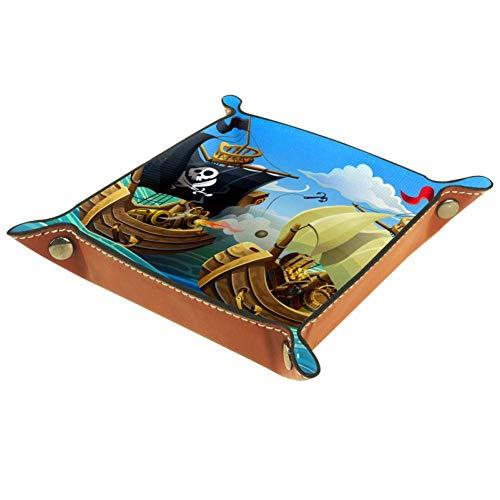 Barco Pirata de Aventura Caja De Almacenamiento De CD De Tarjeta De...