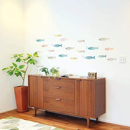 Ambiance-Live Adhesivo Decorativo para Pared de Banco de Peces Multico