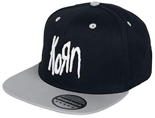 Korn 3D Logo - Snapback Cap Unisex Cap schwarz 100% Polyester Band-Merch, Bands