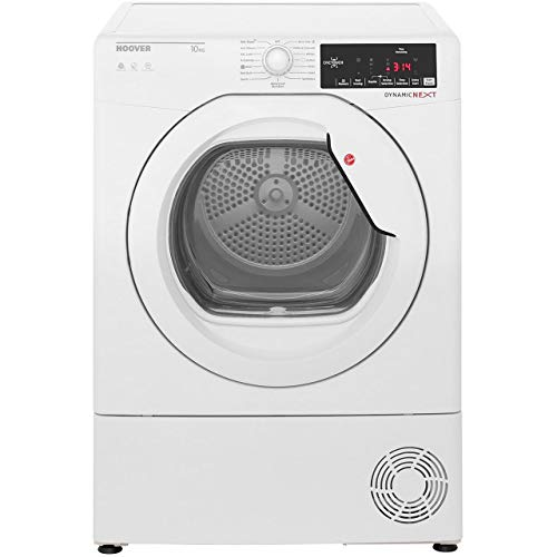 Hoover DXC10TG Freestanding B Rated Condenser Tumble Dryer - White