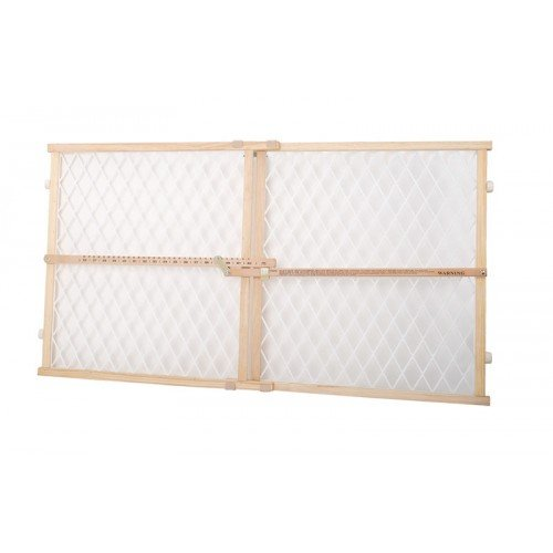 Dogit 70623 Kunststof mesh Pet veiligheid poort, 66–106,7 cm W x 58,4 cm H