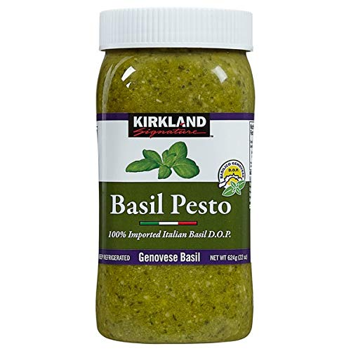 Kirkland Signature Expect More Italian Basil Pesto, 22 oz