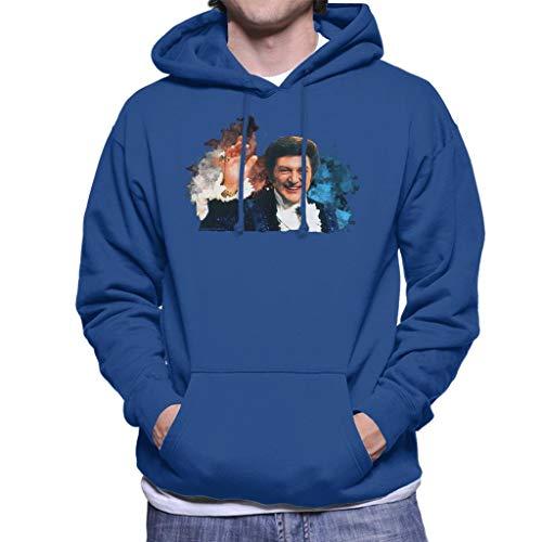 TV Times Singer Liberace Paint Splatter Heren Hooded Sweatshirt
