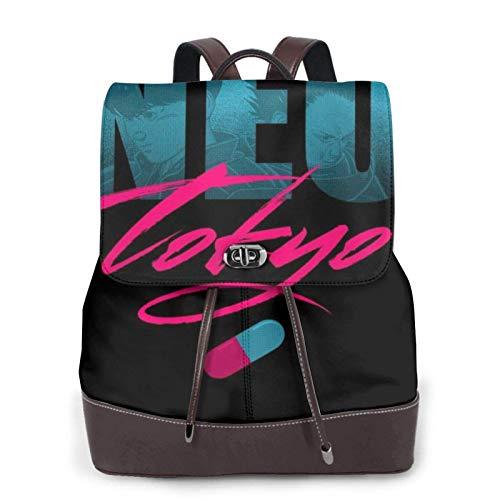 Post Apocalyptic Future Neo Tokyo Akira Women's Bapack, College Girl School Bag, Ladies Travel Bapack, Ladies Leather Bapackck