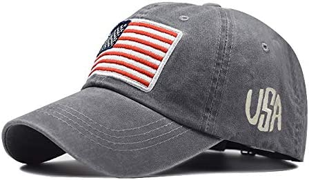 American Flag hat Tactical Embroidered Operator Cap Baseball Cap for Men and Women Adjustable product image