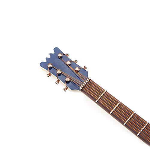 Modelo de mini guitarra de resistência ao desgaste Modelo de guitarra em miniatura, acabamento requintado para decoração de escritório Decoração de mesa para casa