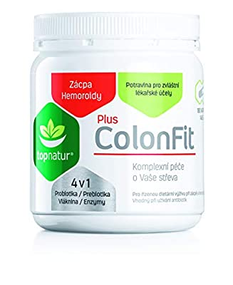 COLONFIT PLUS - Bloating and Gas Relief with Digestive Enzymes, Probiotics, Prebiotic and Fiber | Relieves Constipation and Hemorrhoids | Colon Cleanse, Healthy Bowel and Flat Tummy