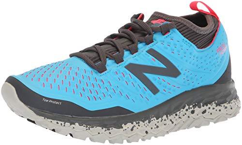 New Balance - Chaussures de course à pied Hierro V3 Fresh Foam - Pour femme, Bleu (bleu clair), 44.5 EU