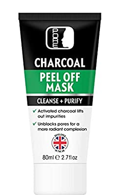 PORE Activated Bamboo Charcoal Black Vacuum Peel Off Face Mask, 1 x 80ml Tube, Blackhead Removal, UK Supplier & Warehouse, Deep Cleansing, Purifying, Removes stubborn dirt and oil, STRONG by Clinicept