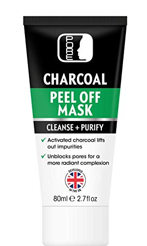 **SPECIAL OFFER** PORE Activated Bamboo Charcoal Black Peel Off Face Mask for Men & Women, 80ml Tube, Blackhead Removal, Deep Cleansing, Purifying, Removes stubborn dirt and oil, STRONG