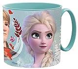 Little Flight Frozen Anna e Elsa Tazza in plastica Riutilizzabile, Pappa Mare Tazza Scuola ,Bicchiere PLASTICA Riutilizzabile Frozen Anna e Elsa (1 Tazza in PLASTICA Riutilizzabile per MICROONDE)