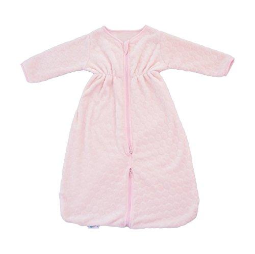 poyetmotte Winter Bubulle slaapzak, 0-6 maanden, lichtroze