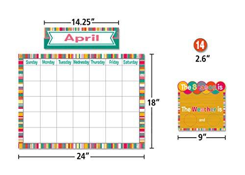 Teacher Created Resources (2685) Tropical Punch Calendar Bulletin Board Photo #2