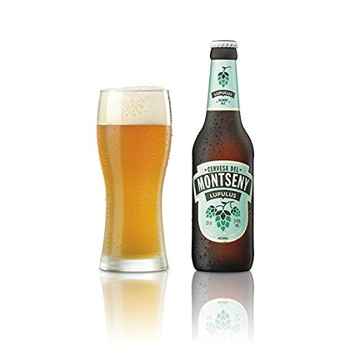 Cerveza Montseny Lupulus (12 botellas de 33 cl) Íber Ale Cerveza Artesana