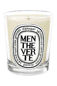 Vela perfumada Menthe Verte