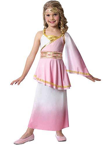 amscan 9904480 Conjunto de disfraz de diosa romana infantil, 6-8 años-2 piezas